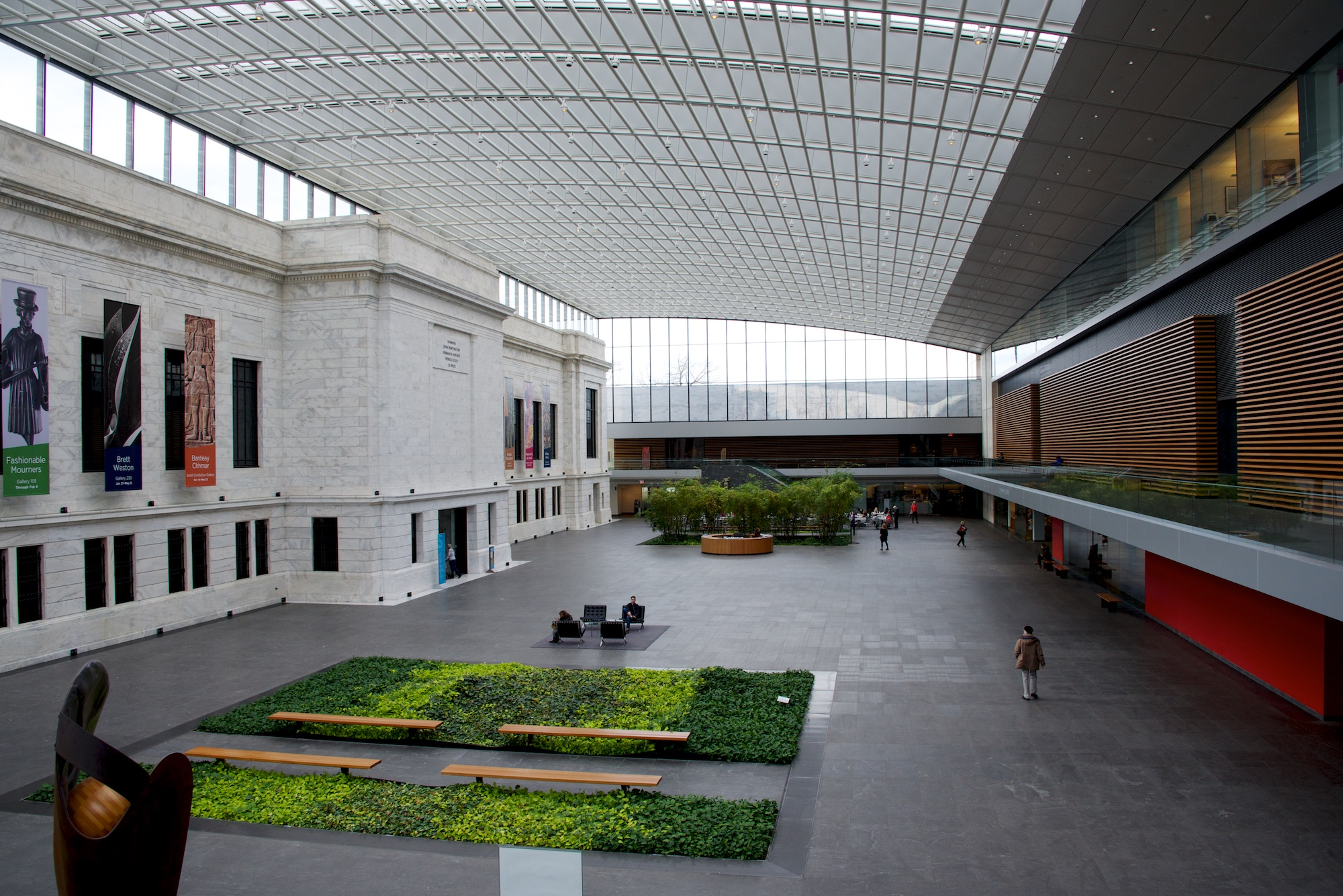 Atrium at Cleveland Museum of Art