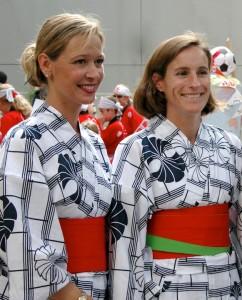Ex-patriots Dressed for Obon